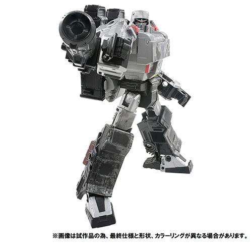 トランスフォーマー プレミアムフィニッシュ『PF WFC-02 メガトロン』可変可動フィギュア