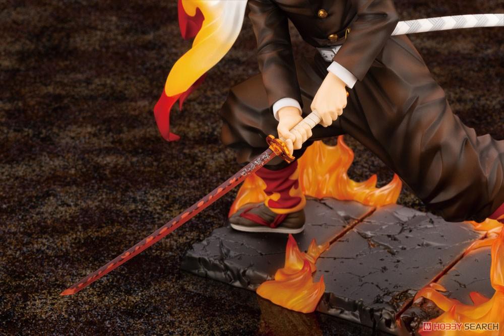 ARTFX J『煉獄杏寿郎』鬼滅の刃 1/8 完成品フィギュア-009