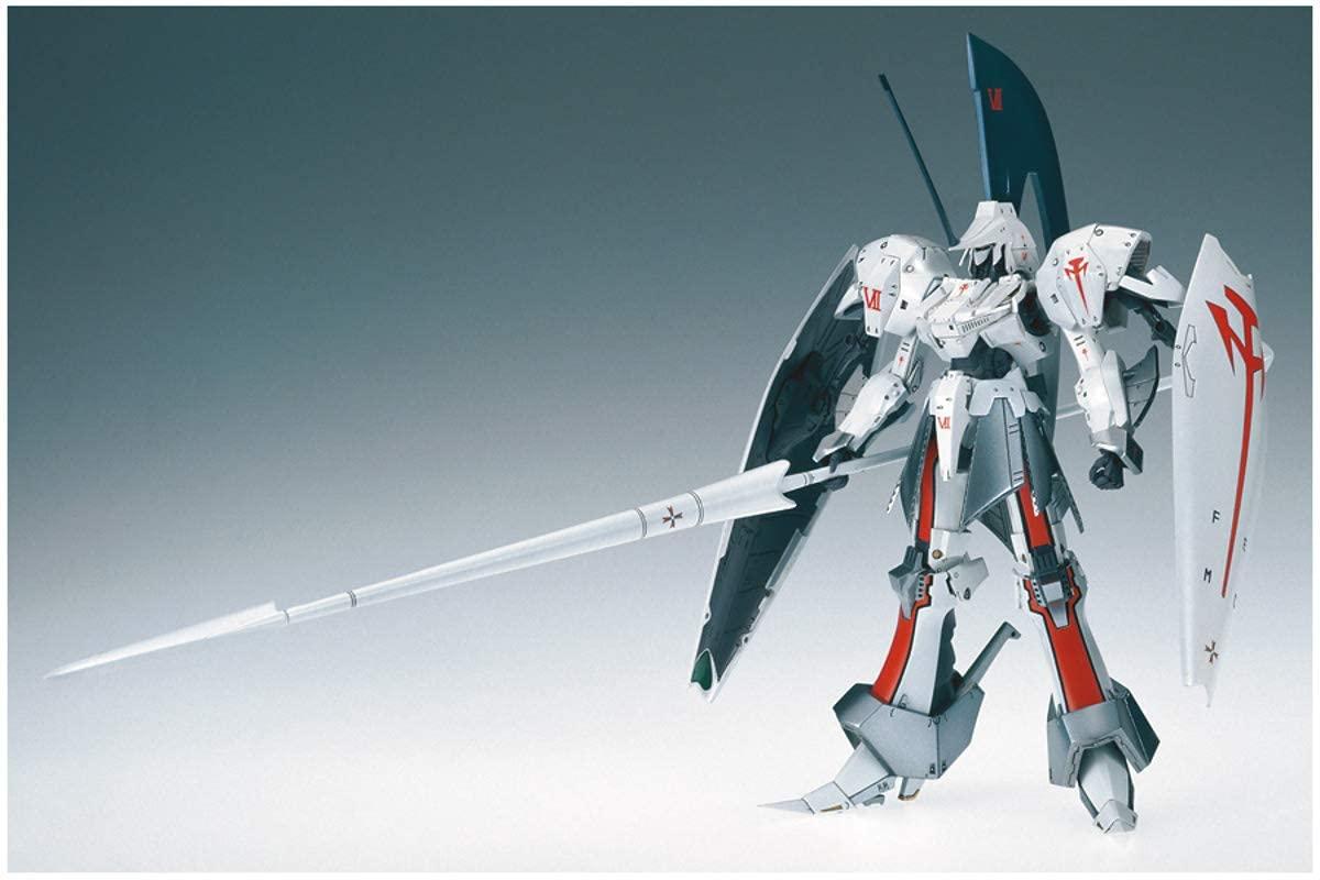 【再販】ファイブスター物語『レッドミラージュ サリオン騎』1/144 プラモデル-002