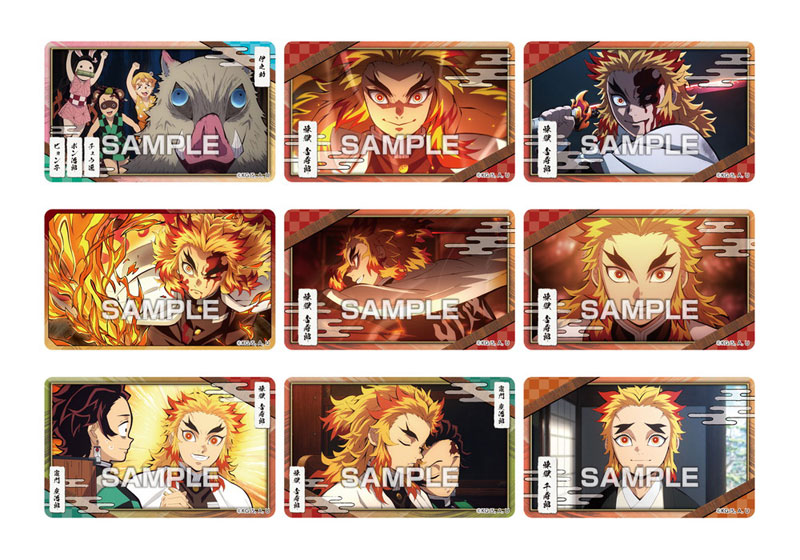 【食玩】鬼滅の刃『デコステッカー4 ガムつき』20個入りBOX-002
