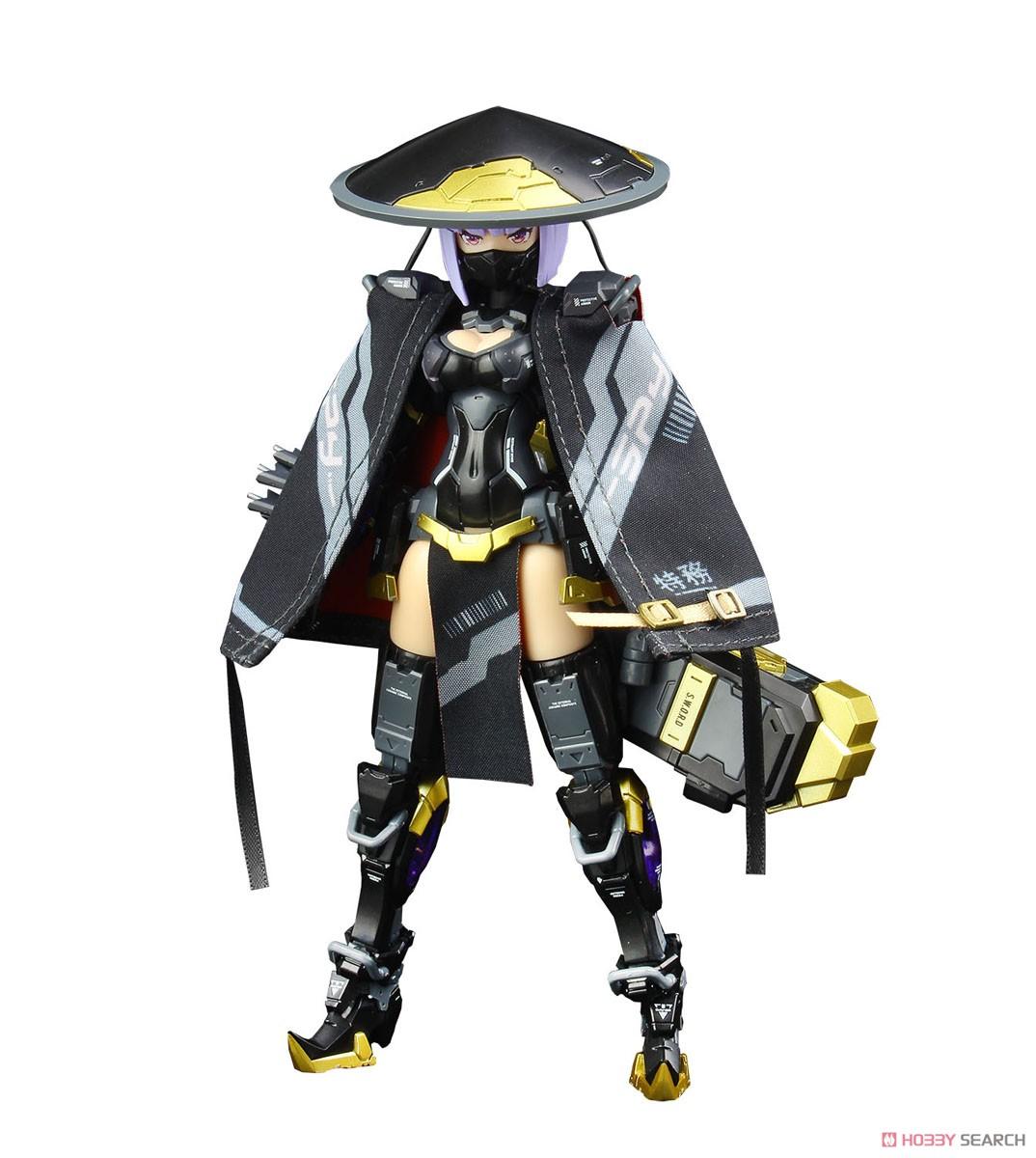 ATKガール『錦衣衛装甲少女 JW-059 ユニバーサルカラーVer.』1/12 プラモデル-001