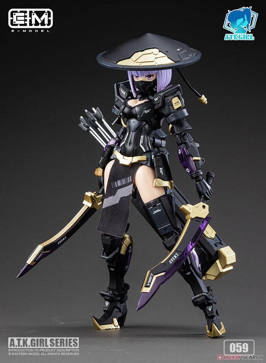 ATKガール『錦衣衛装甲少女 JW-059 ユニバーサルカラーVer.』1/12 プラモデル-004