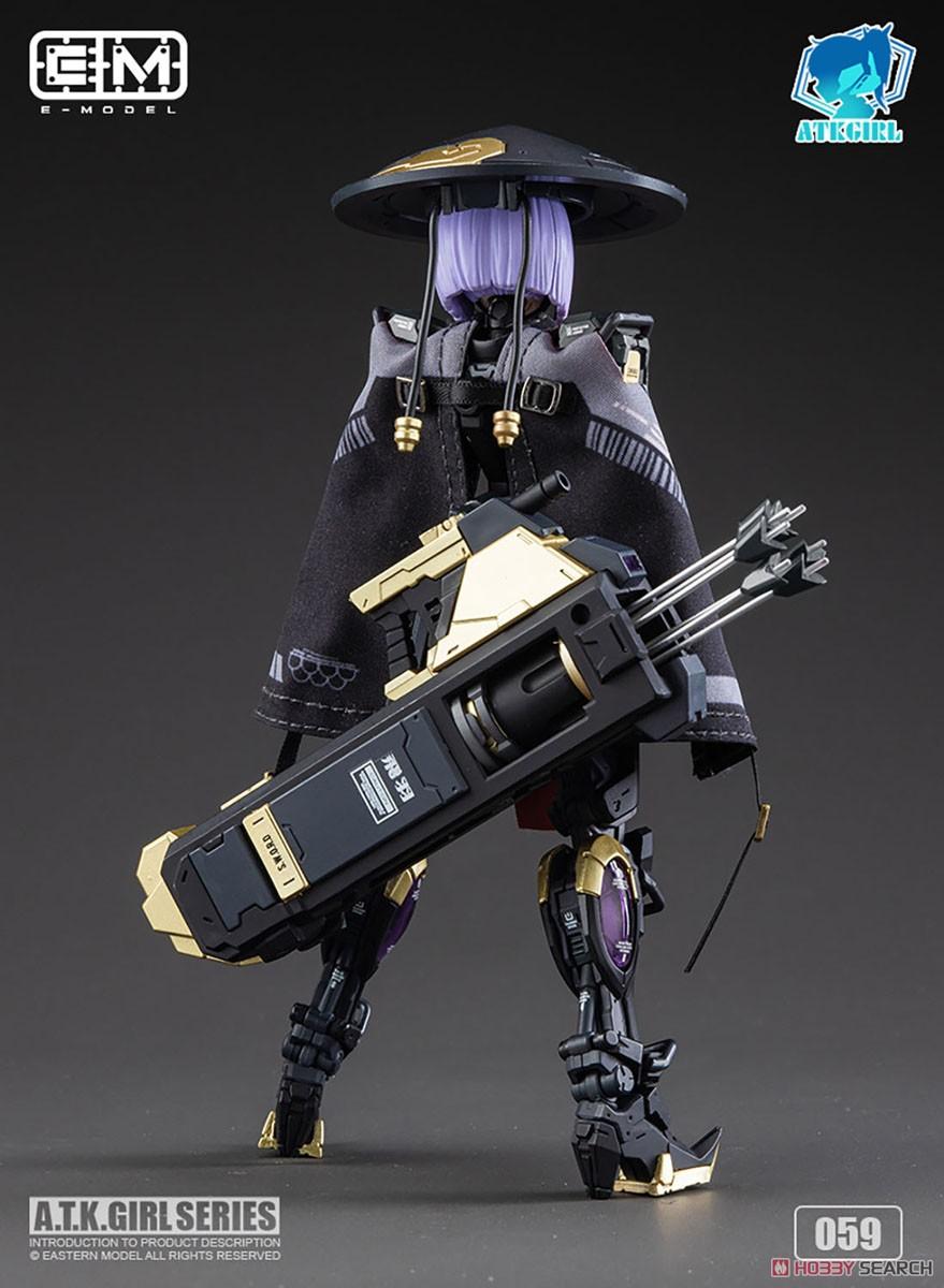 ATKガール『錦衣衛装甲少女 JW-059 ユニバーサルカラーVer.』1/12 プラモデル-006