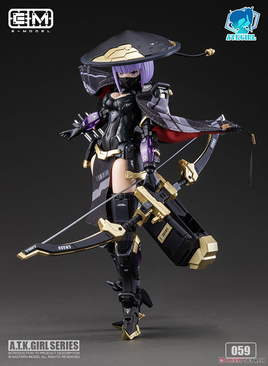 ATKガール『錦衣衛装甲少女 JW-059 ユニバーサルカラーVer.』1/12 プラモデル-007
