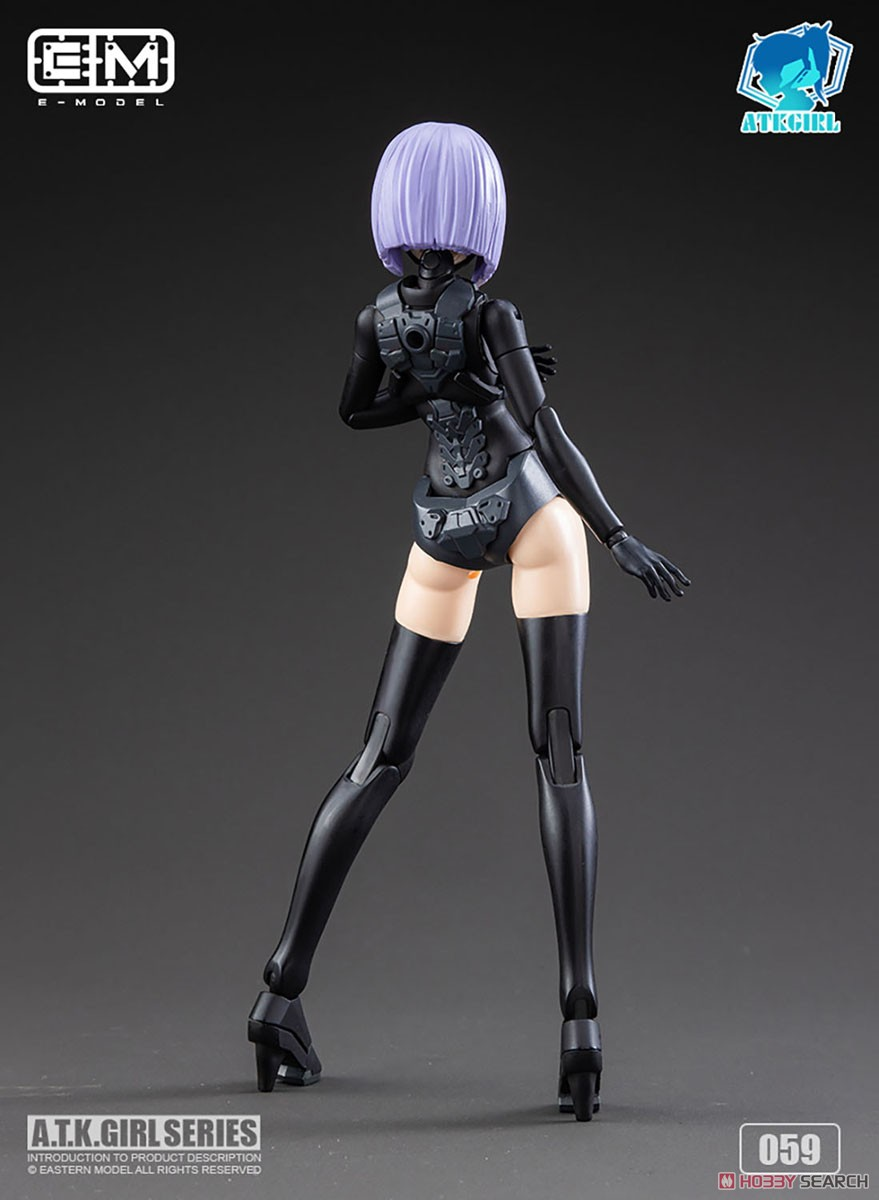ATKガール『錦衣衛装甲少女 JW-059 ユニバーサルカラーVer.』1/12 プラモデル-009