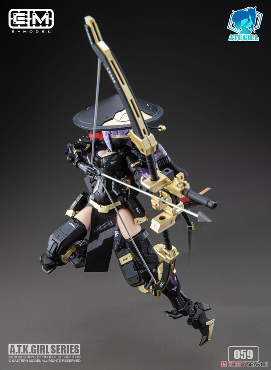 ATKガール『錦衣衛装甲少女 JW-059 ユニバーサルカラーVer.』1/12 プラモデル-012