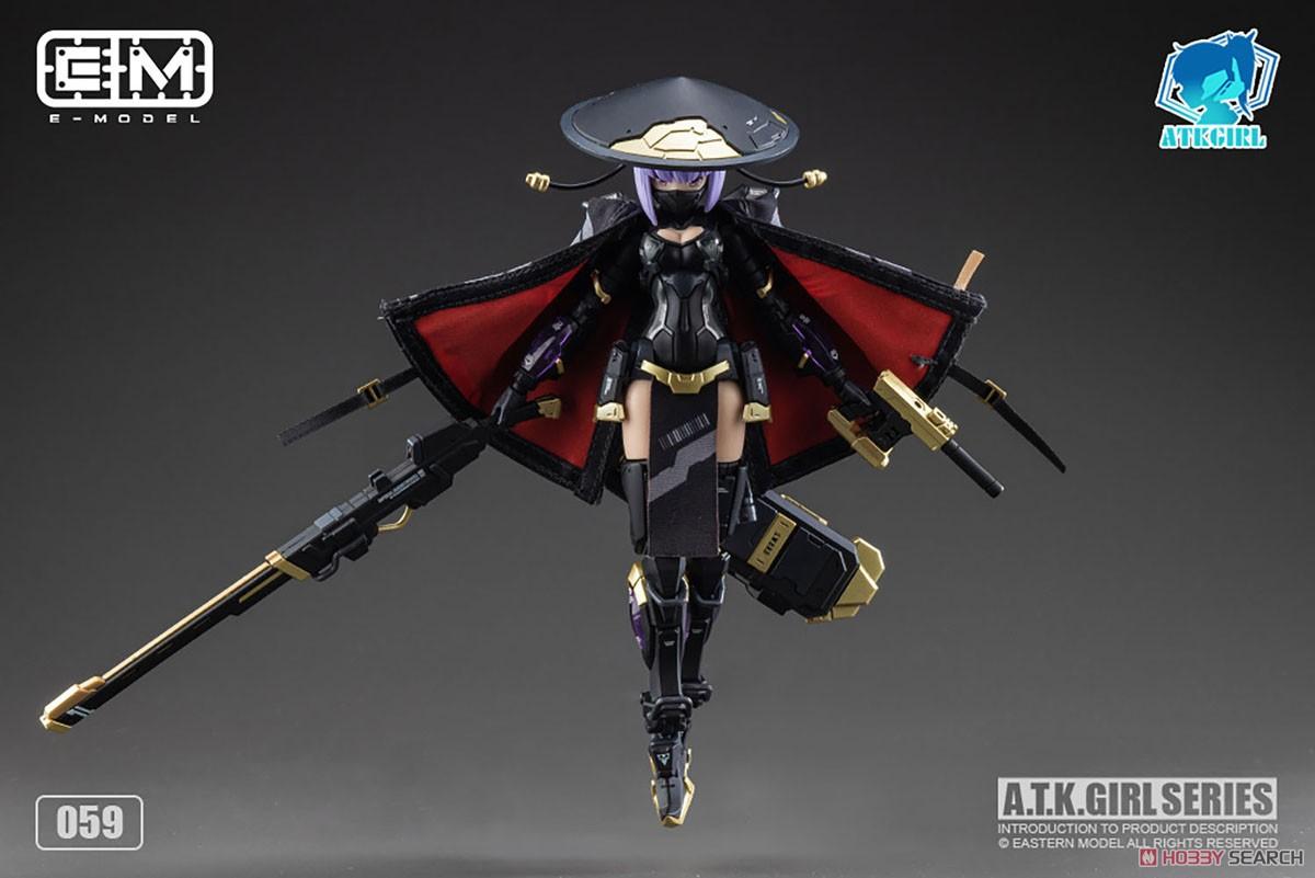 ATKガール『錦衣衛装甲少女 JW-059 ユニバーサルカラーVer.』1/12 プラモデル-019