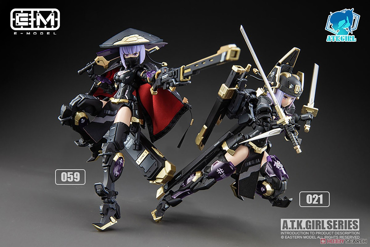 ATKガール『錦衣衛装甲少女 JW-059 ユニバーサルカラーVer.』1/12 プラモデル-021