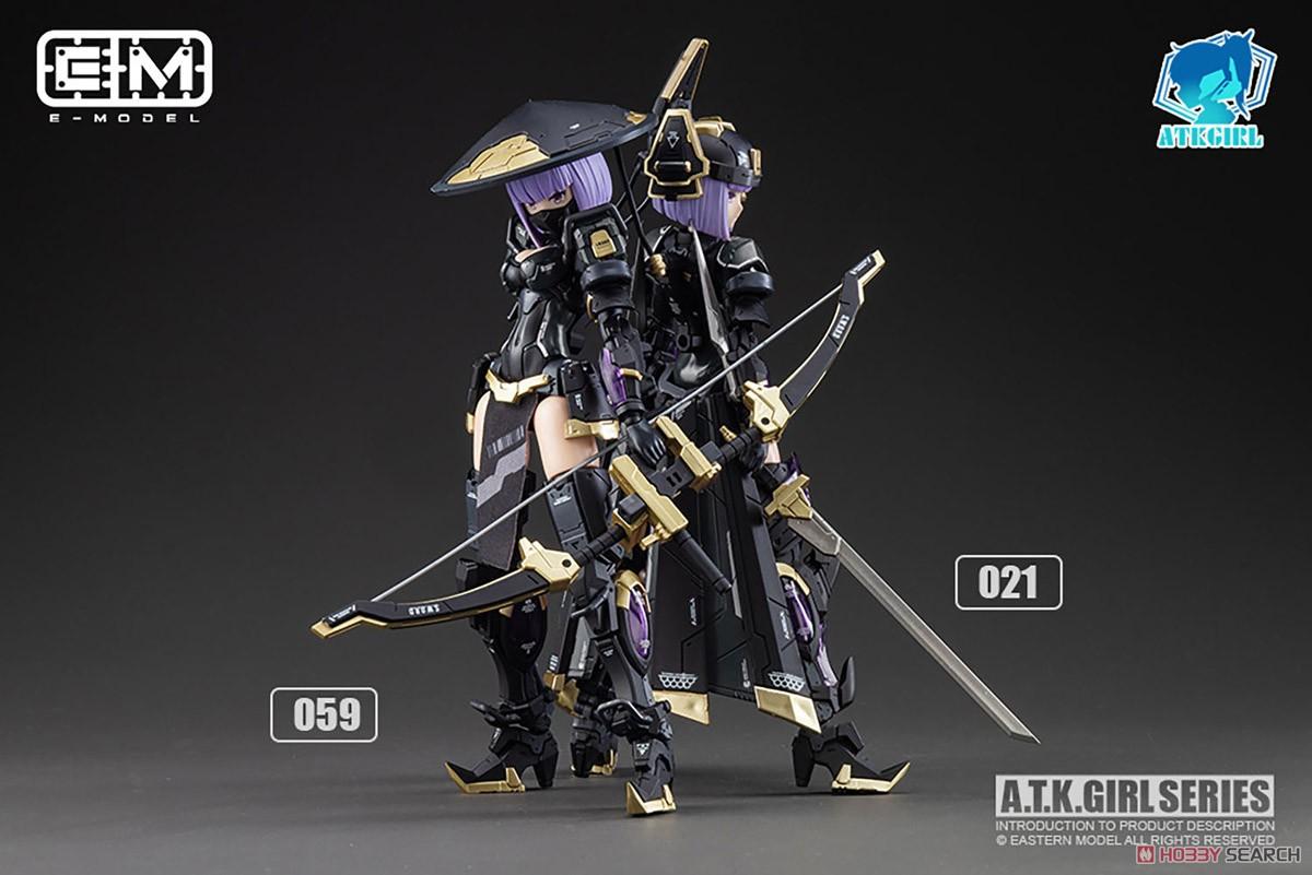 ATKガール『錦衣衛装甲少女 JW-059 ユニバーサルカラーVer.』1/12 プラモデル-022
