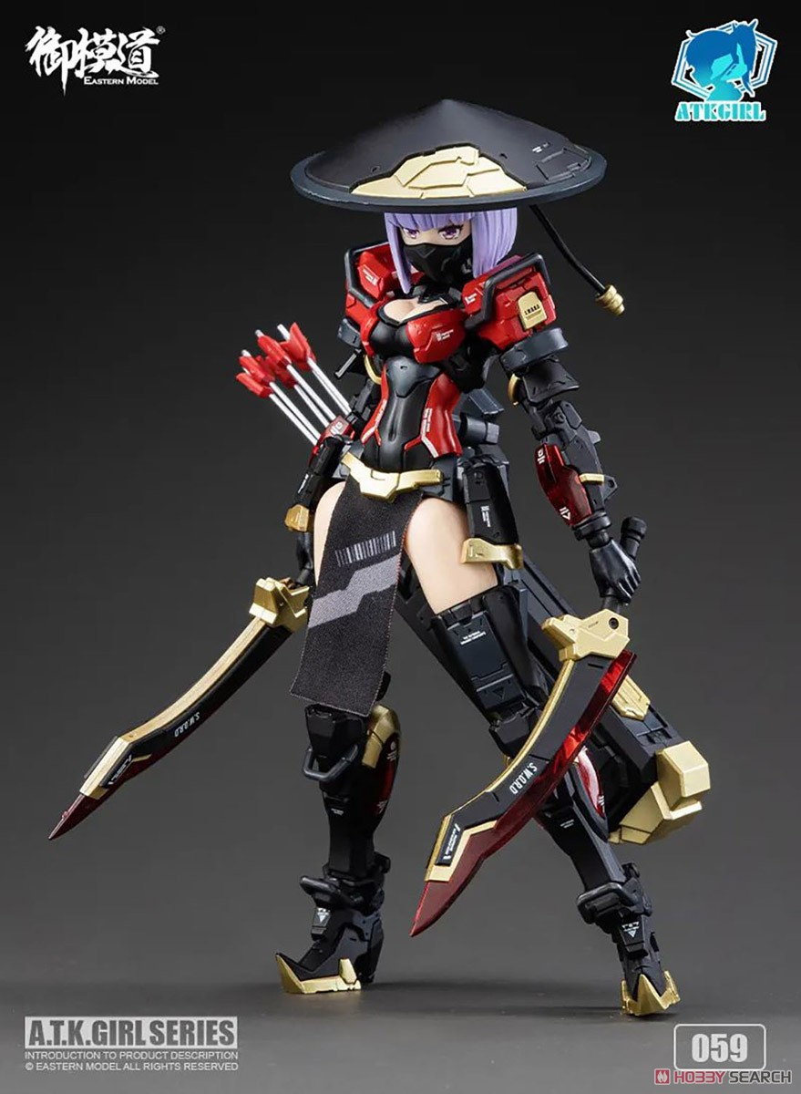 ATKガール『錦衣衛装甲少女 JW-059 ユニバーサルカラーVer.』1/12 プラモデル-026