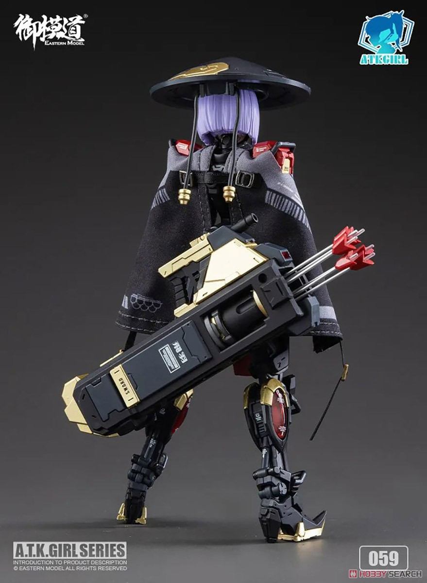 ATKガール『錦衣衛装甲少女 JW-059 ユニバーサルカラーVer.』1/12 プラモデル-027