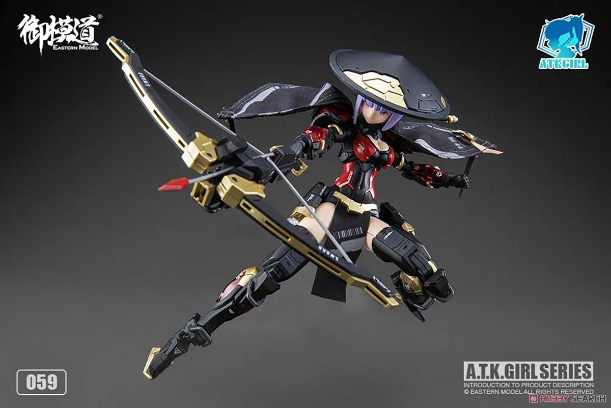 ATKガール『錦衣衛装甲少女 JW-059 ユニバーサルカラーVer.』1/12 プラモデル-034