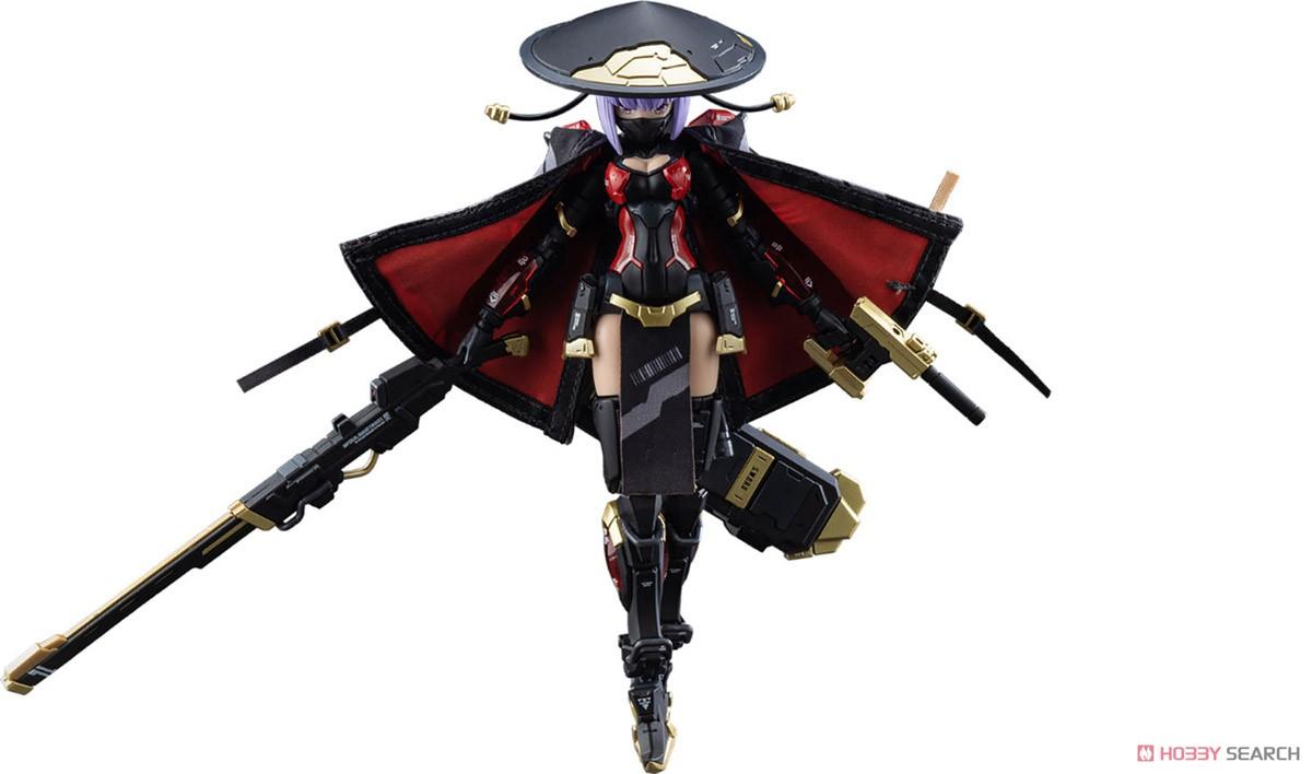 ATKガール『錦衣衛装甲少女 JW-059 ユニバーサルカラーVer.』1/12 プラモデル-039