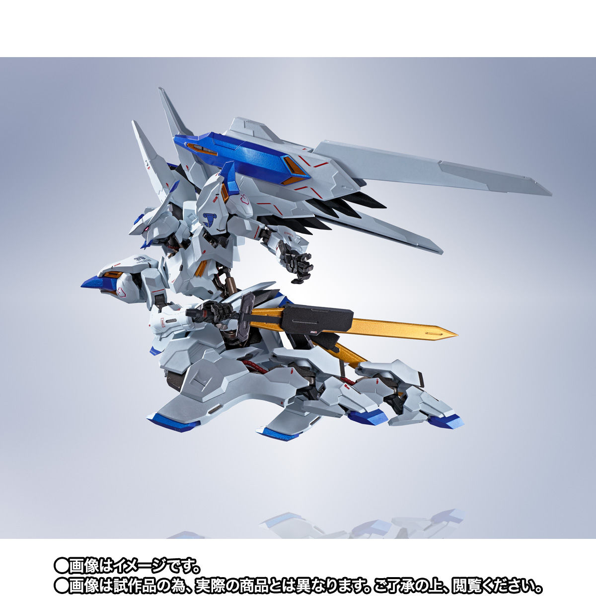 【限定販売】METAL ROBOT魂〈SIDE MS〉『ガンダムバエル』鉄血のオルフェンズ 可動フィギュア-007