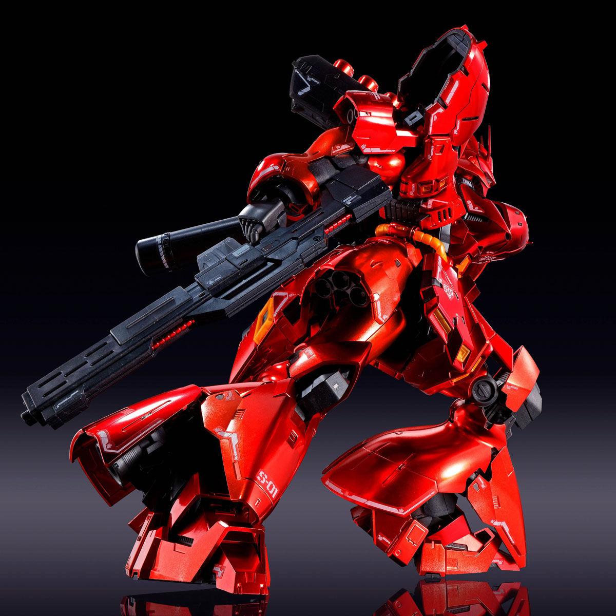 【限定販売】【再販】RG 1/144『サザビー[スペシャルコーティング]』逆襲のシャア プラモデル-008