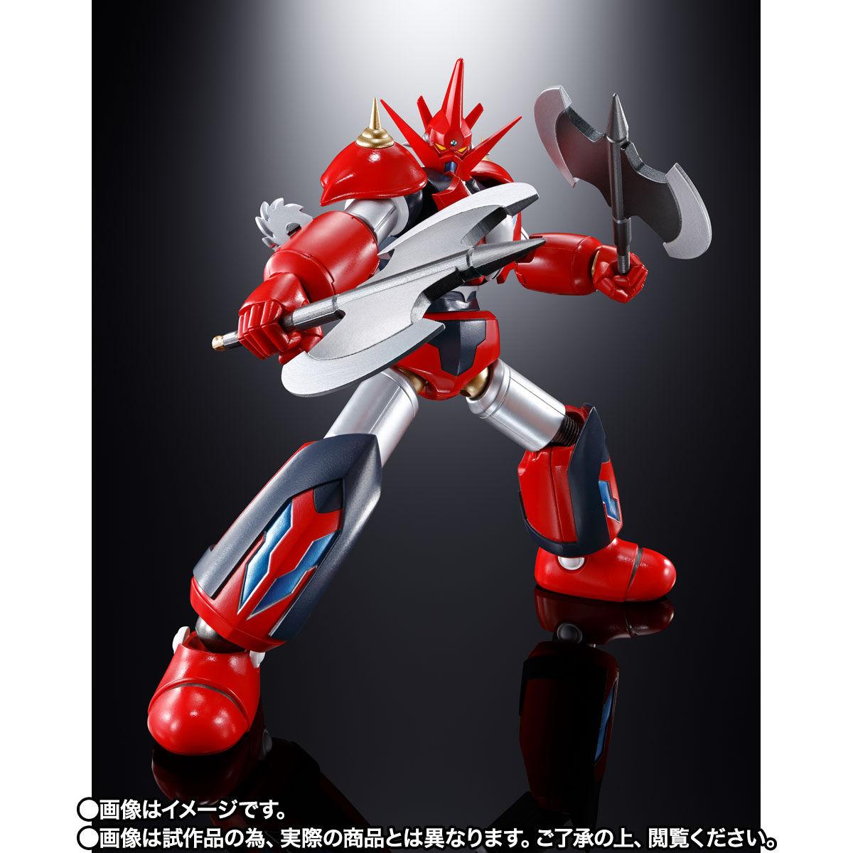 【限定販売】超合金魂『GX-98 ゲッターD2』ゲッターロボ アーク 可動フィギュア-006
