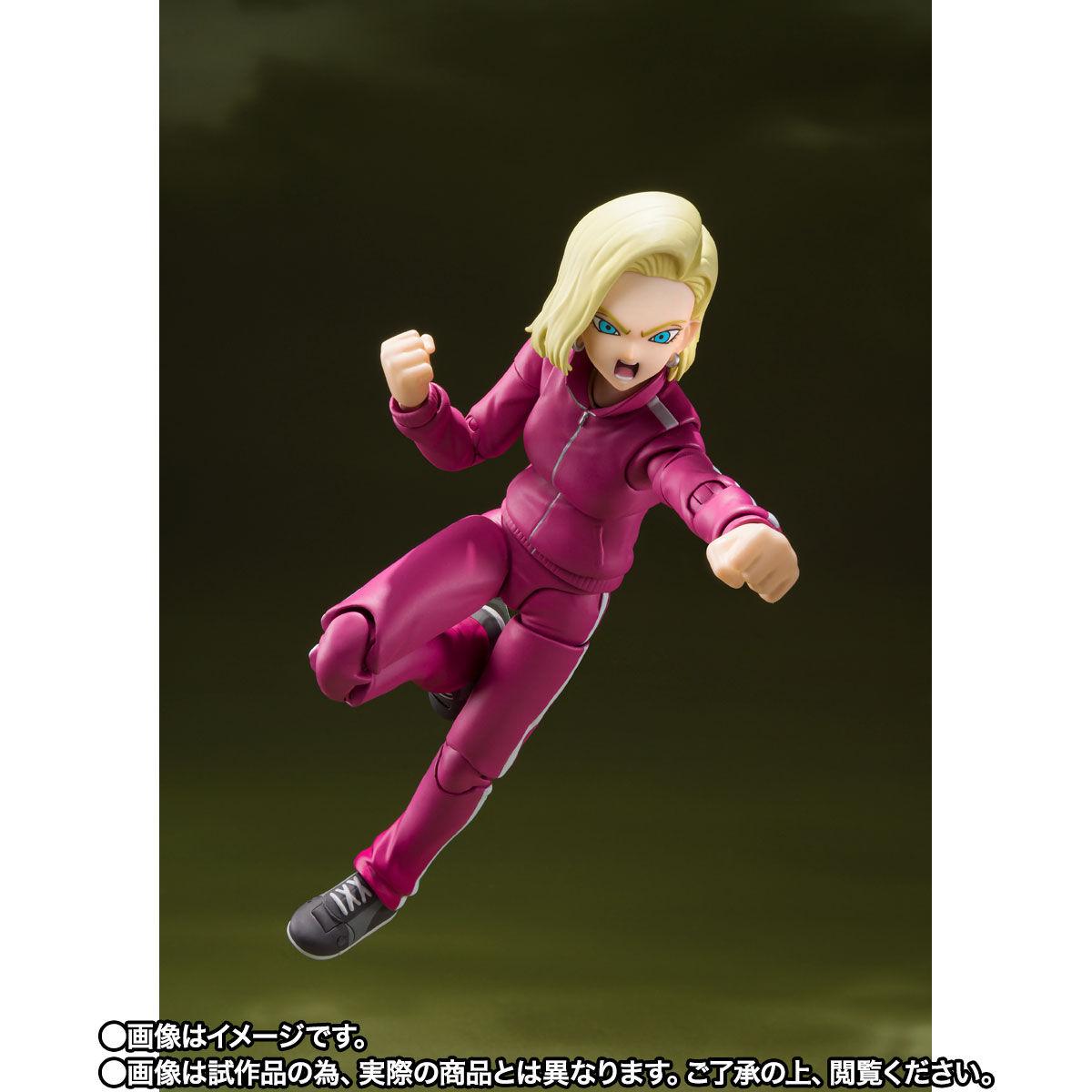 【限定販売】S.H.Figuarts『人造人間18号-宇宙サバイバル編-』ドラゴンボール超 可動フィギュア-003