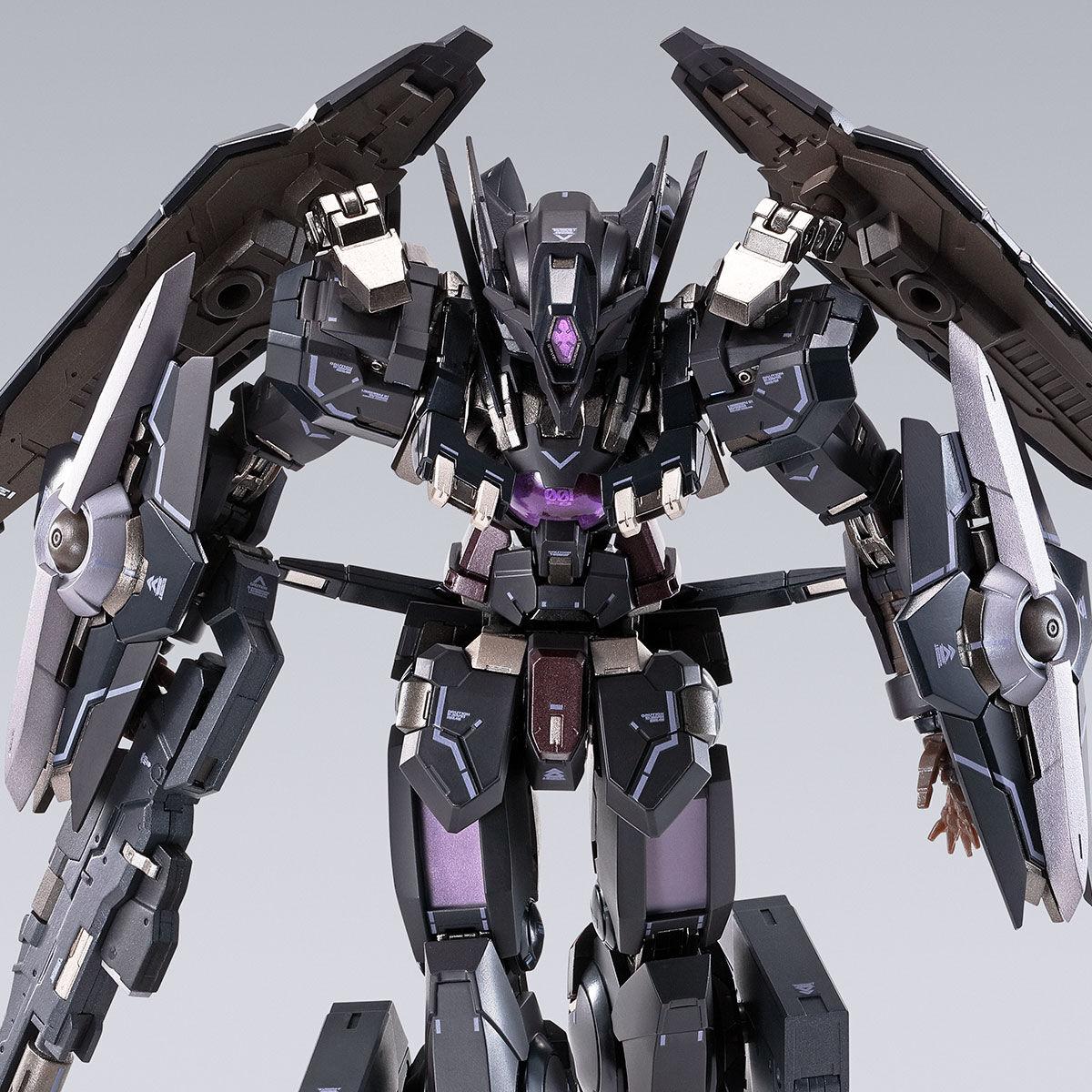 【限定販売】METAL BUILD『ガンダムアストレアTYPE-Xフィンスターニス』ガンダム00 可動フィギュア-001