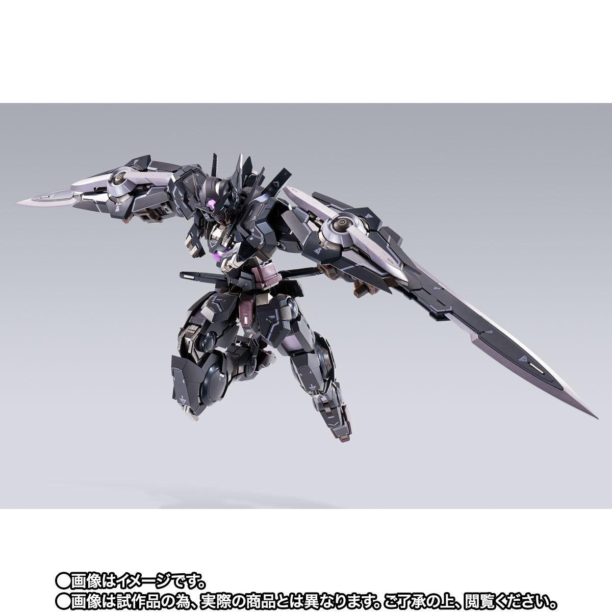 【限定販売】METAL BUILD『ガンダムアストレアTYPE-Xフィンスターニス』ガンダム00 可動フィギュア-007