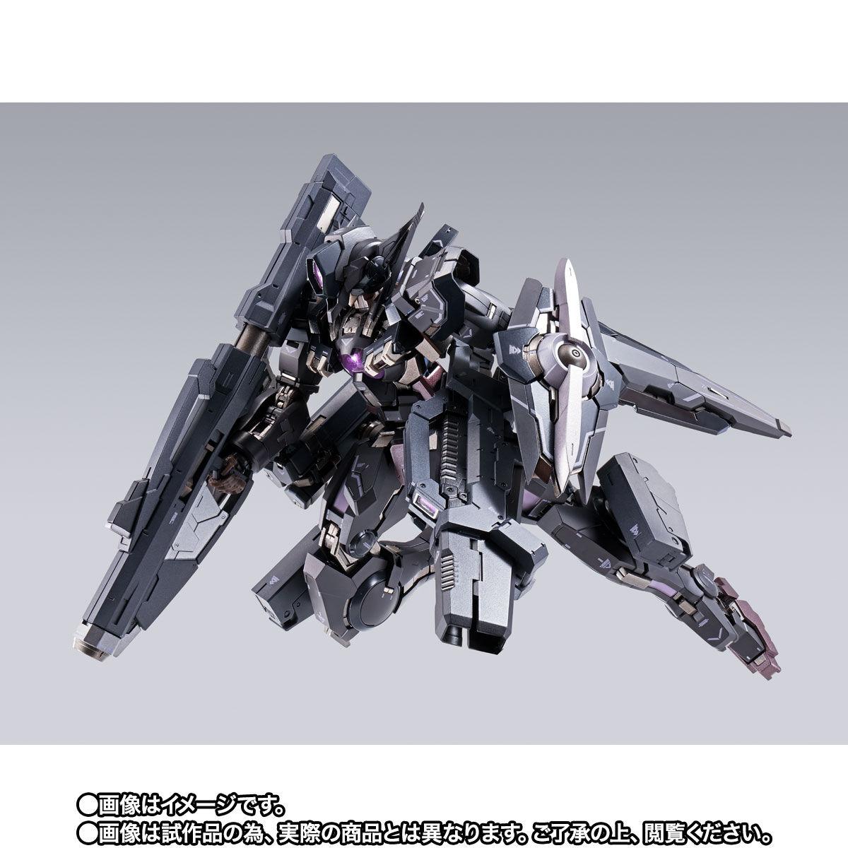 【限定販売】METAL BUILD『ガンダムアストレアTYPE-Xフィンスターニス』ガンダム00 可動フィギュア-009