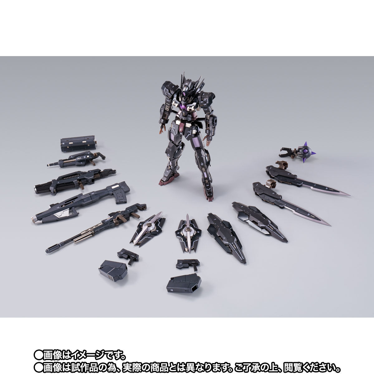 【限定販売】METAL BUILD『ガンダムアストレアTYPE-Xフィンスターニス』ガンダム00 可動フィギュア-010