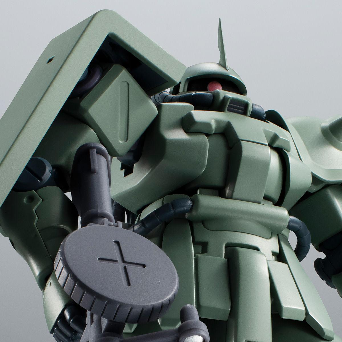 【限定販売】ROBOT魂〈SIDE MS〉『MS-06F-2 ザクII F2型(ノイエン・ビッター)ver. A.N.I.M.E.』ガンダム0083 可動フィギュア-001