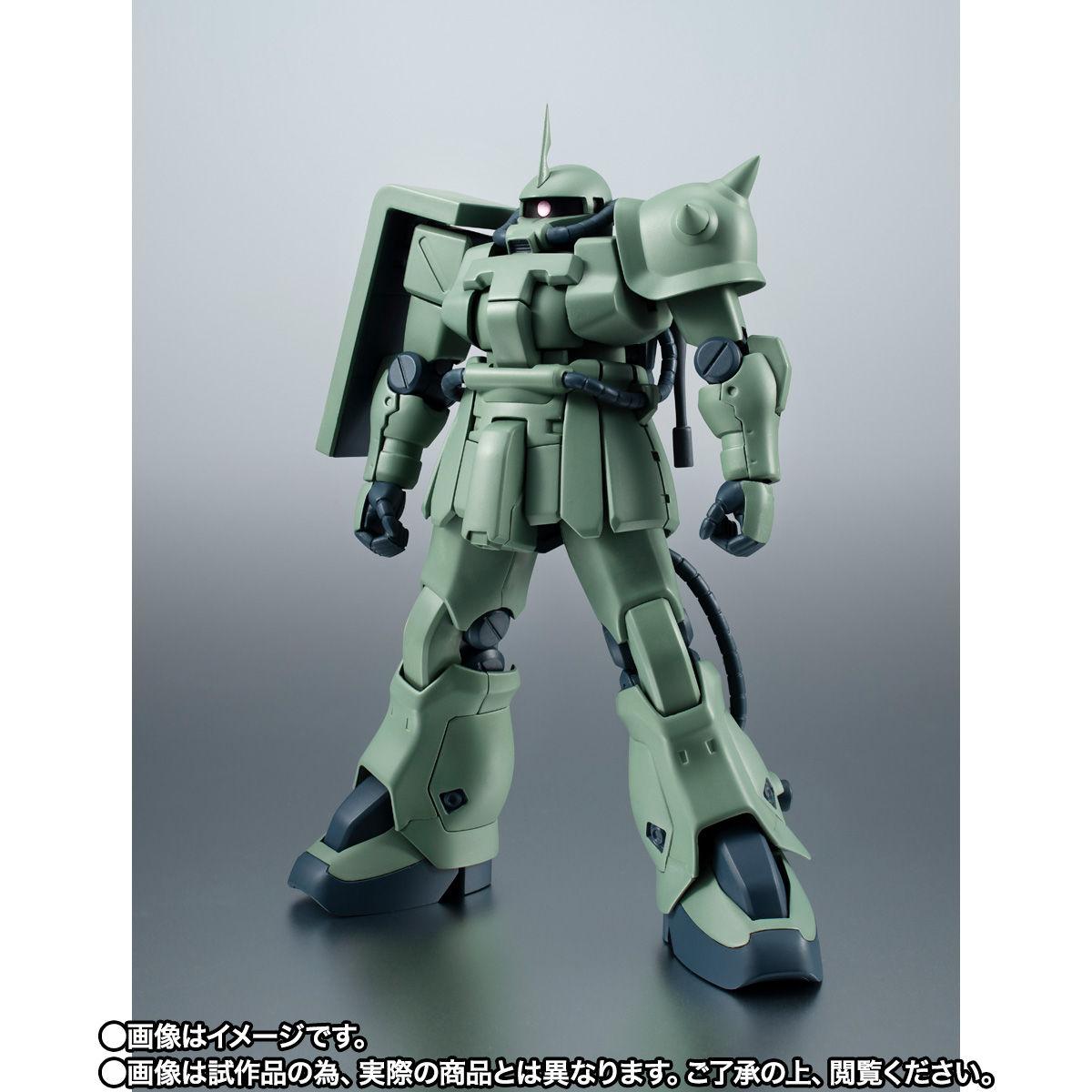 【限定販売】ROBOT魂〈SIDE MS〉『MS-06F-2 ザクII F2型(ノイエン・ビッター)ver. A.N.I.M.E.』ガンダム0083 可動フィギュア-002