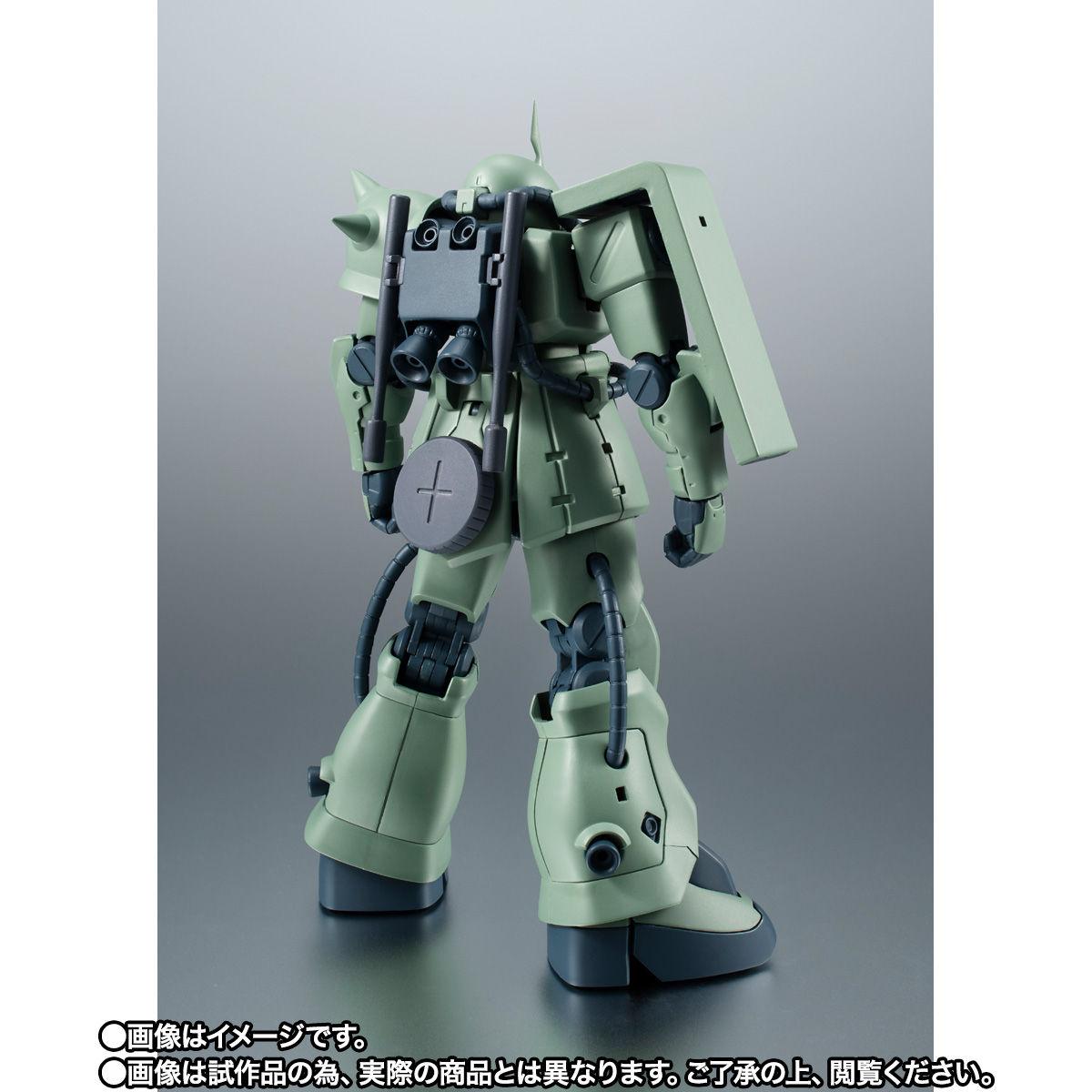 【限定販売】ROBOT魂〈SIDE MS〉『MS-06F-2 ザクII F2型(ノイエン・ビッター)ver. A.N.I.M.E.』ガンダム0083 可動フィギュア-003