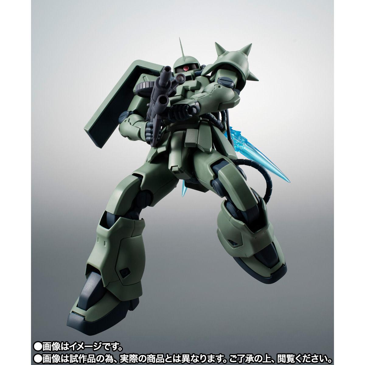 【限定販売】ROBOT魂〈SIDE MS〉『MS-06F-2 ザクII F2型(ノイエン・ビッター)ver. A.N.I.M.E.』ガンダム0083 可動フィギュア-004
