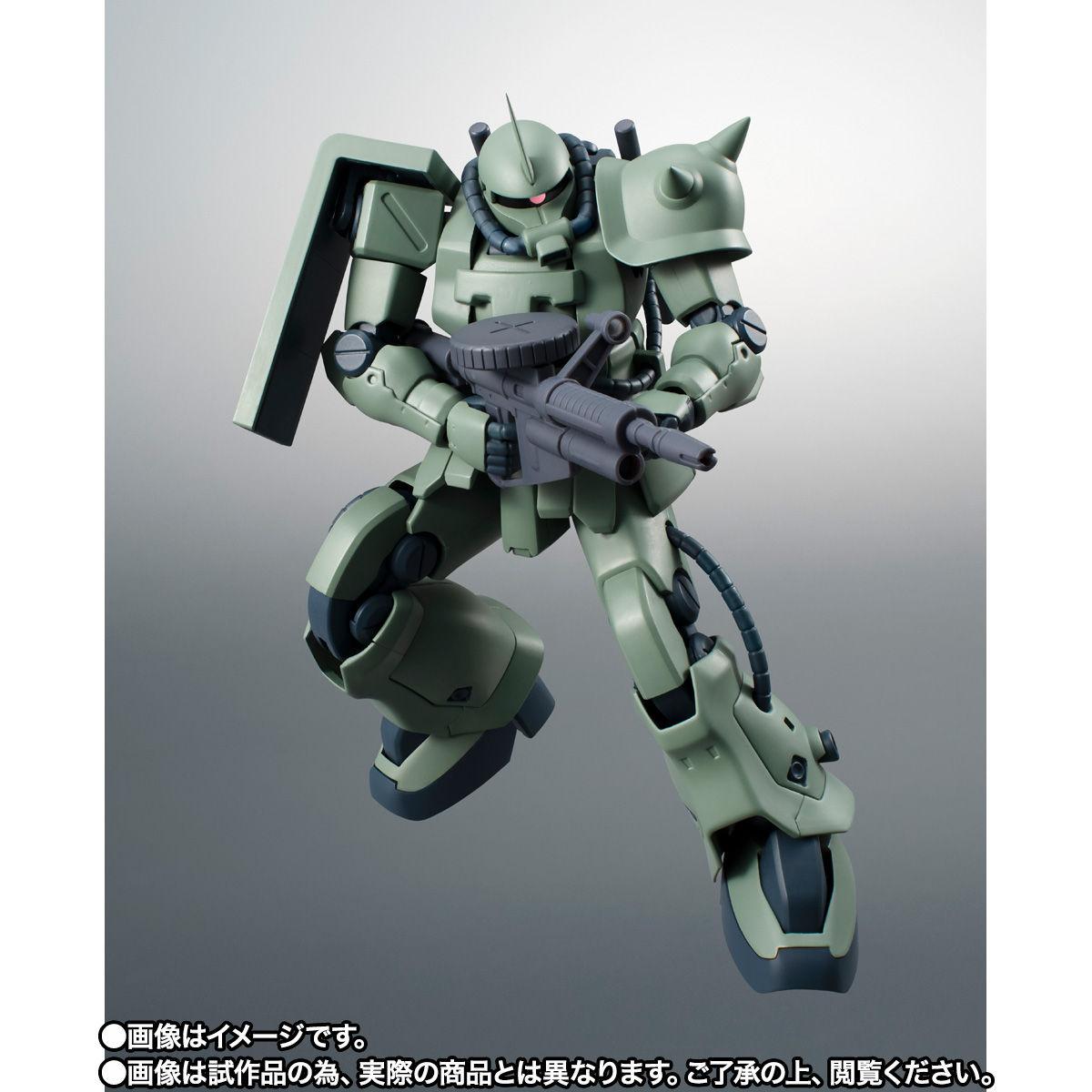 【限定販売】ROBOT魂〈SIDE MS〉『MS-06F-2 ザクII F2型(ノイエン・ビッター)ver. A.N.I.M.E.』ガンダム0083 可動フィギュア-005