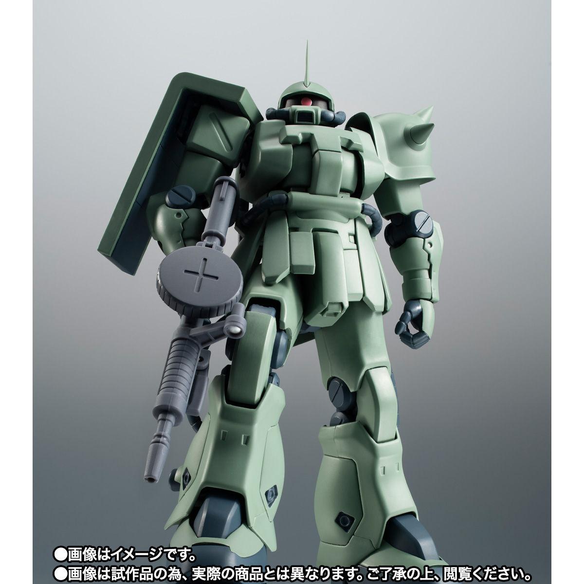 【限定販売】ROBOT魂〈SIDE MS〉『MS-06F-2 ザクII F2型(ノイエン・ビッター)ver. A.N.I.M.E.』ガンダム0083 可動フィギュア-007