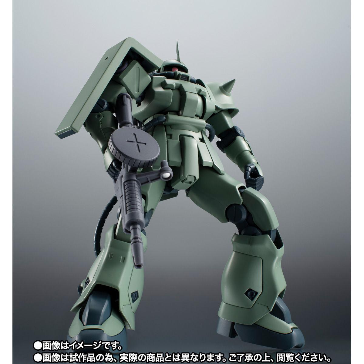 【限定販売】ROBOT魂〈SIDE MS〉『MS-06F-2 ザクII F2型(ノイエン・ビッター)ver. A.N.I.M.E.』ガンダム0083 可動フィギュア-008