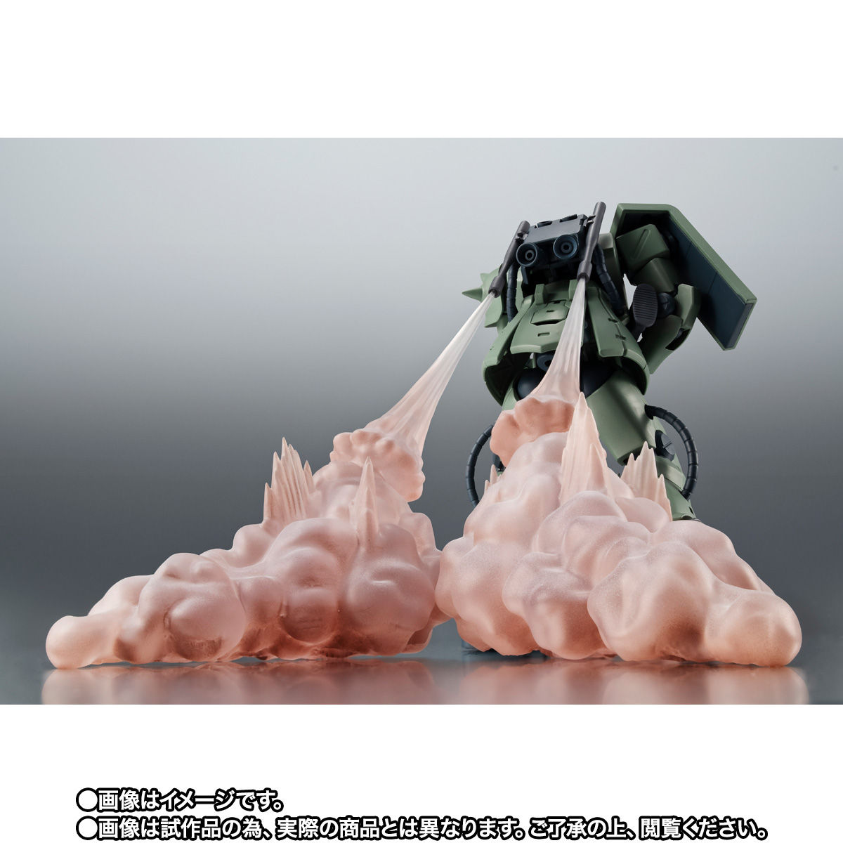 【限定販売】ROBOT魂〈SIDE MS〉『MS-06F-2 ザクII F2型(ノイエン・ビッター)ver. A.N.I.M.E.』ガンダム0083 可動フィギュア-009
