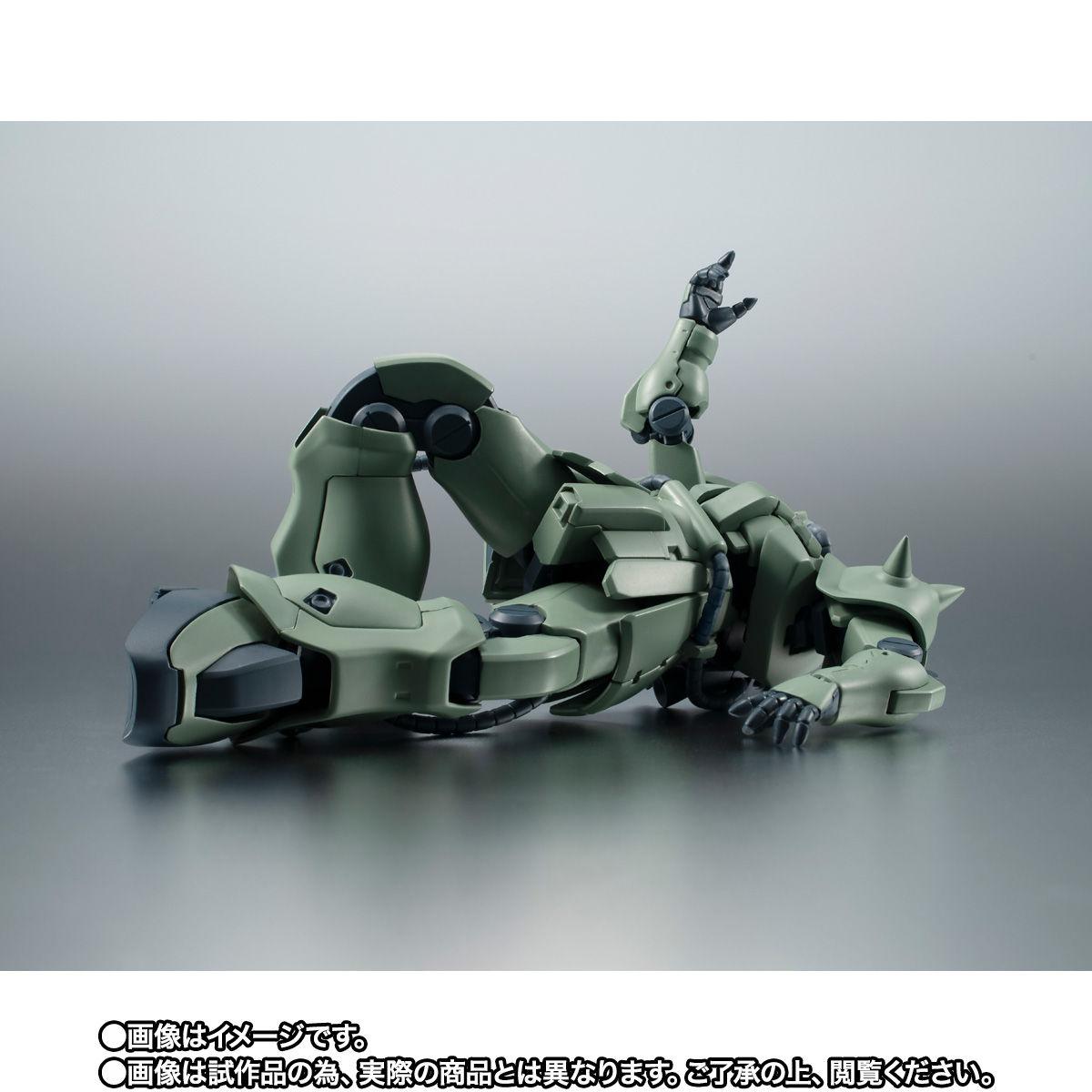 【限定販売】ROBOT魂〈SIDE MS〉『MS-06F-2 ザクII F2型(ノイエン・ビッター)ver. A.N.I.M.E.』ガンダム0083 可動フィギュア-010