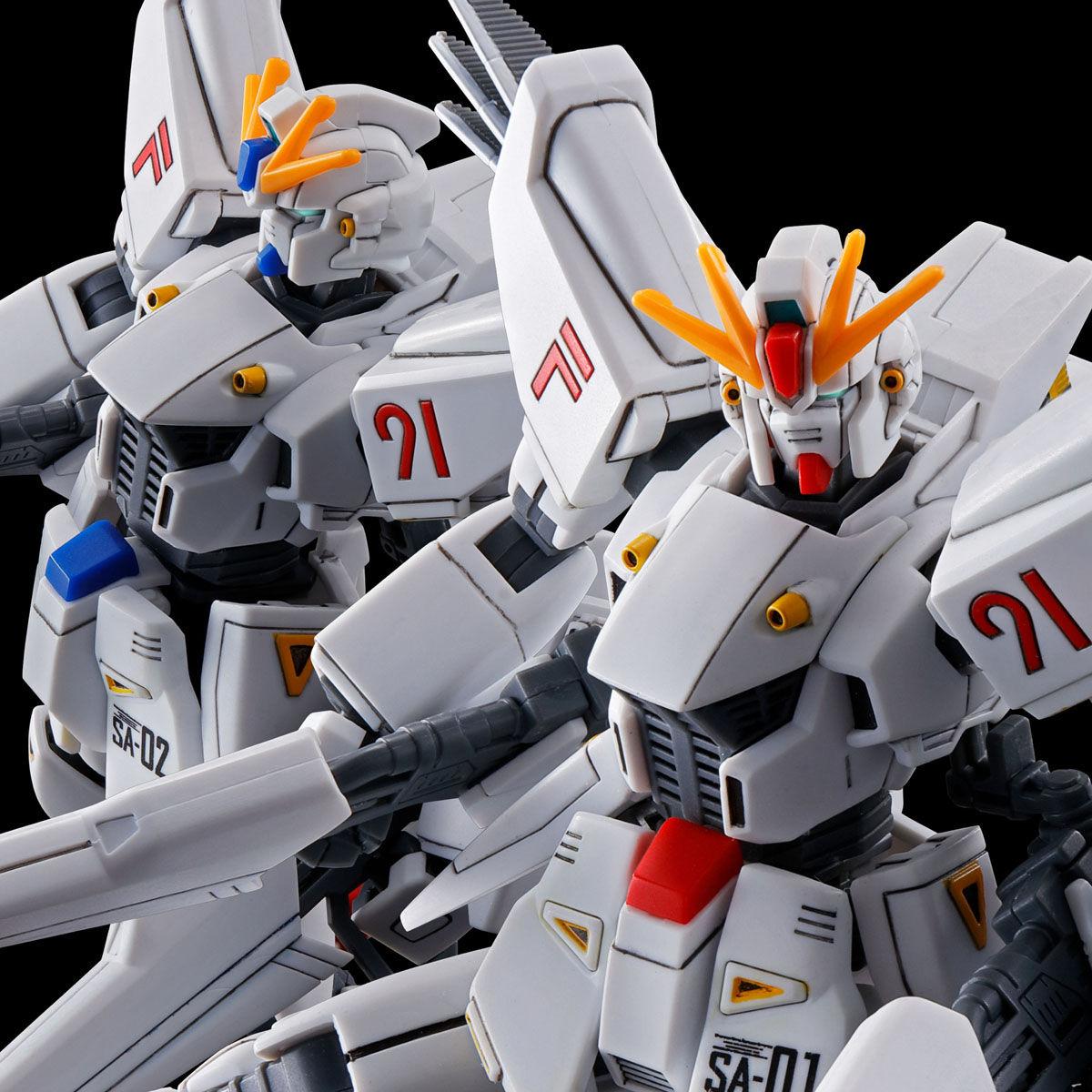 【限定販売】【再販】HG 1/144『ガンダムF91ヴァイタル 1号機&2号機セット』ガンダムF91プリクエル プラモデル-001