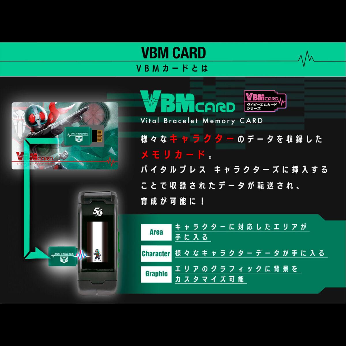【限定販売】仮面ライダー『バイタルブレス キャラクターズ 仮面ライダー50thエディション』ウェアラブル液晶玩具-004