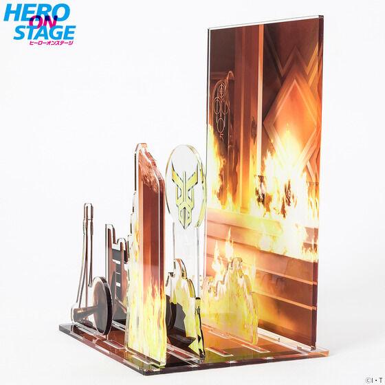 【限定販売】HERO ON STAGE/ヒーローオンステージ『仮面ライダークウガ‐変身-』ディスプレイ・パネル-006