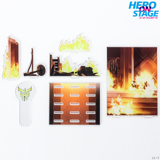 【限定販売】HERO ON STAGE/ヒーローオンステージ『仮面ライダークウガ‐変身-』ディスプレイ・パネル-007
