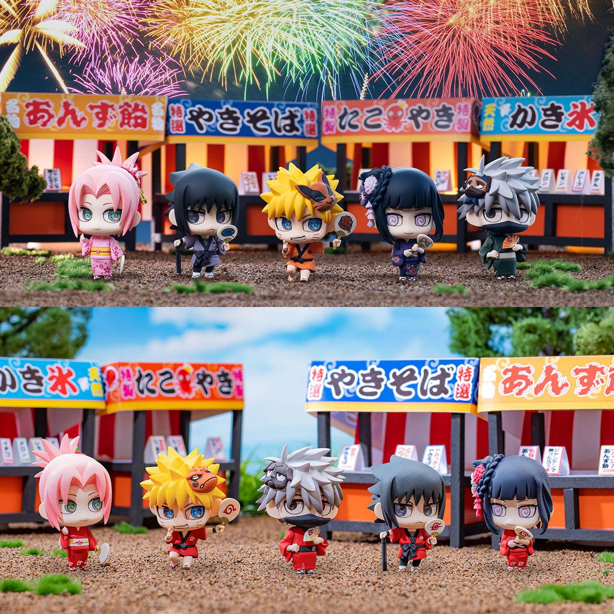 ちみメガ10周年企画『ぷちきゃらランド NARUTO -ナルト- 疾風伝 10周年祭開幕だってばよ!』10個入りBOX-001
