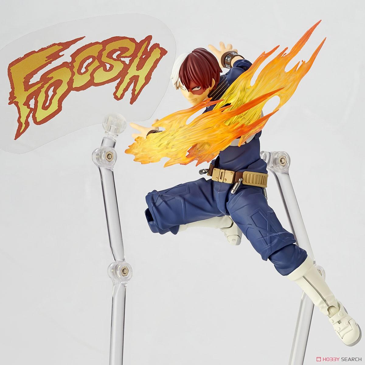フィギュアコンプレックス アメイジング・ヤマグチ No.026『轟焦凍』僕のヒーローアカデミア 可動フィギュア-007