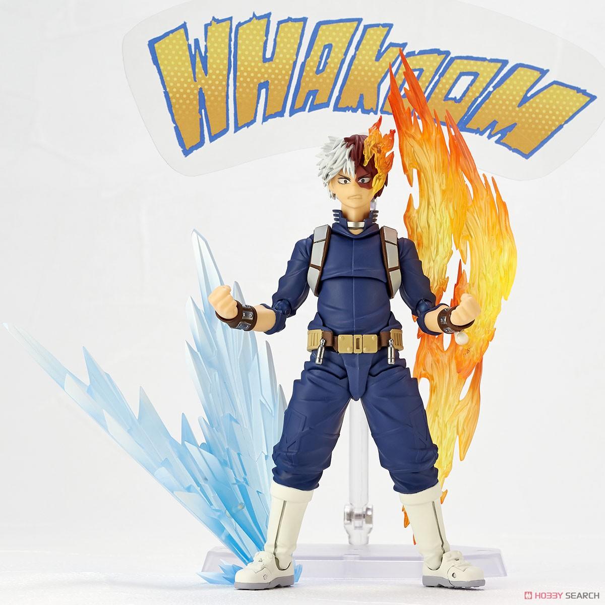 フィギュアコンプレックス アメイジング・ヤマグチ No.026『轟焦凍』僕のヒーローアカデミア 可動フィギュア-008