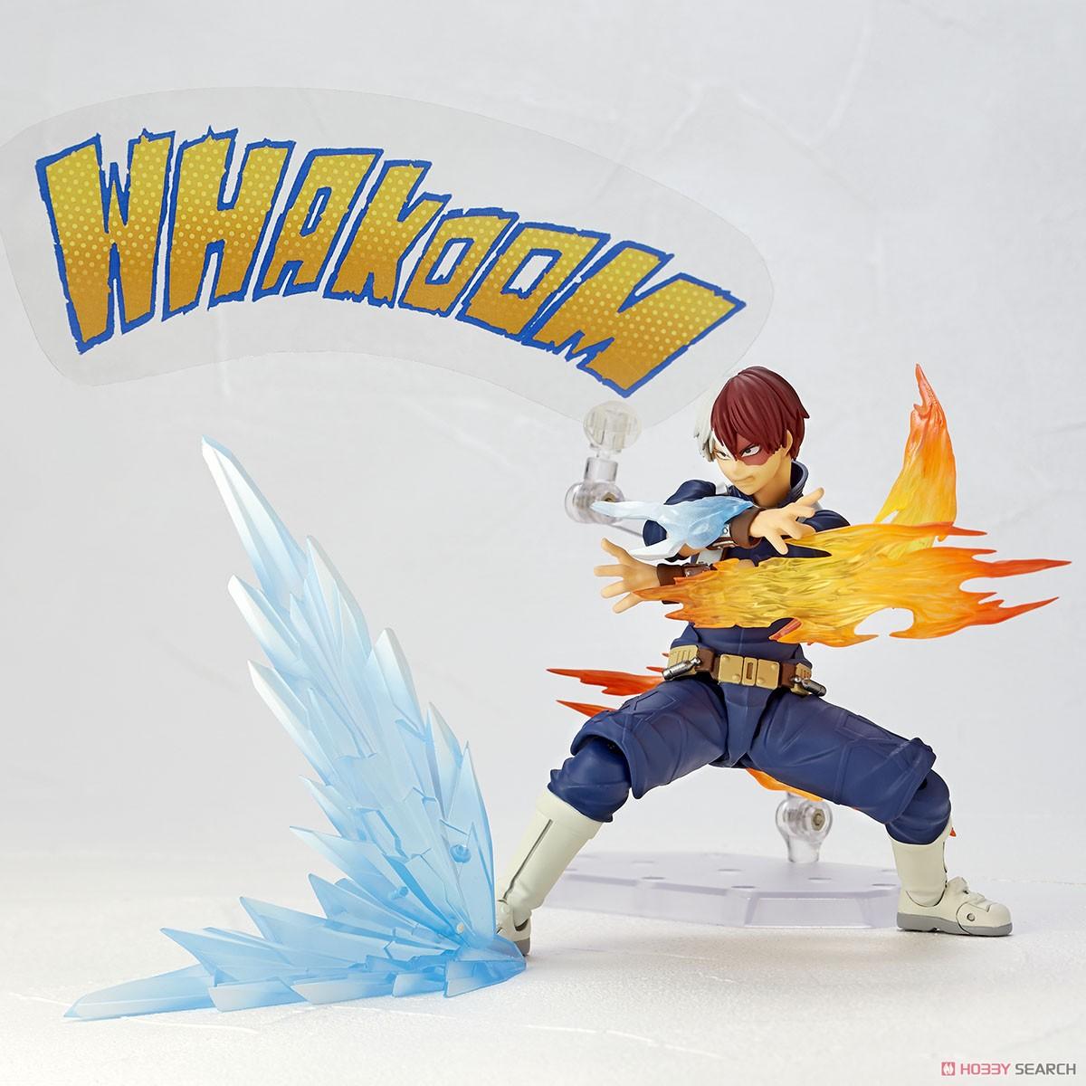 フィギュアコンプレックス アメイジング・ヤマグチ No.026『轟焦凍』僕のヒーローアカデミア 可動フィギュア-009