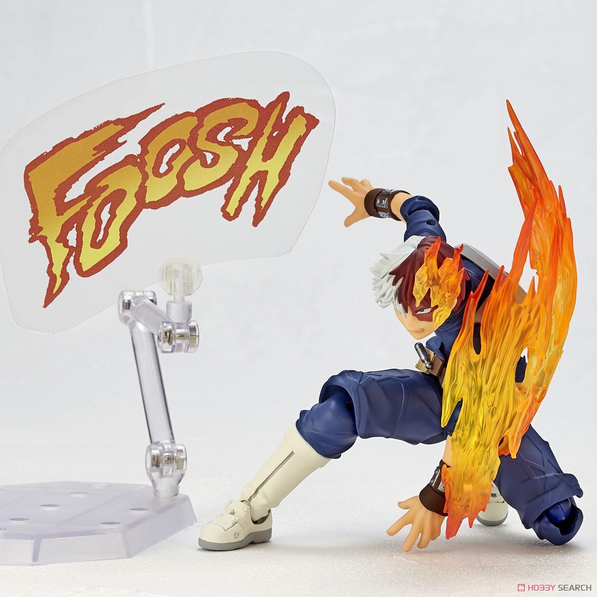フィギュアコンプレックス アメイジング・ヤマグチ No.026『轟焦凍』僕のヒーローアカデミア 可動フィギュア-011
