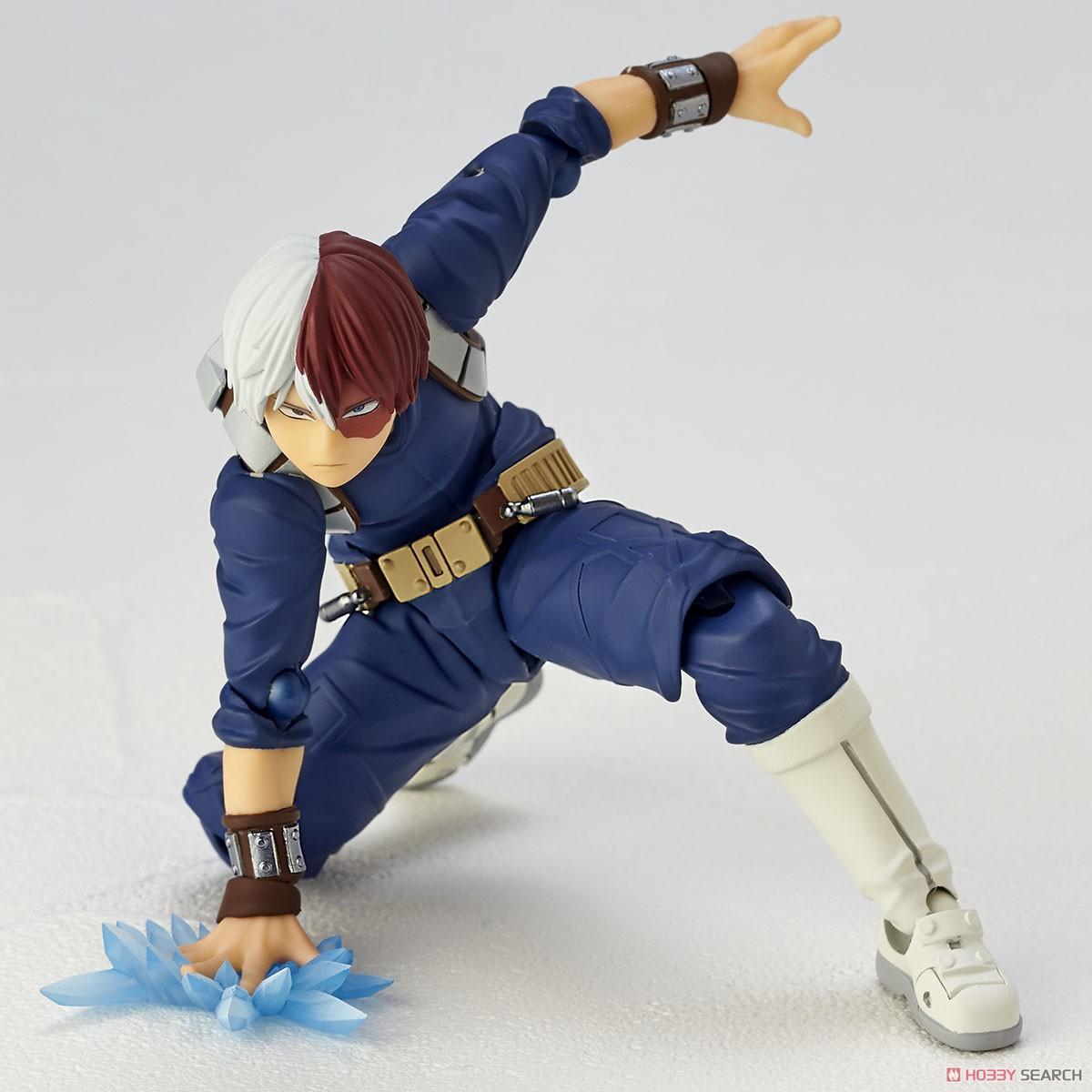 フィギュアコンプレックス アメイジング・ヤマグチ No.026『轟焦凍』僕のヒーローアカデミア 可動フィギュア-012