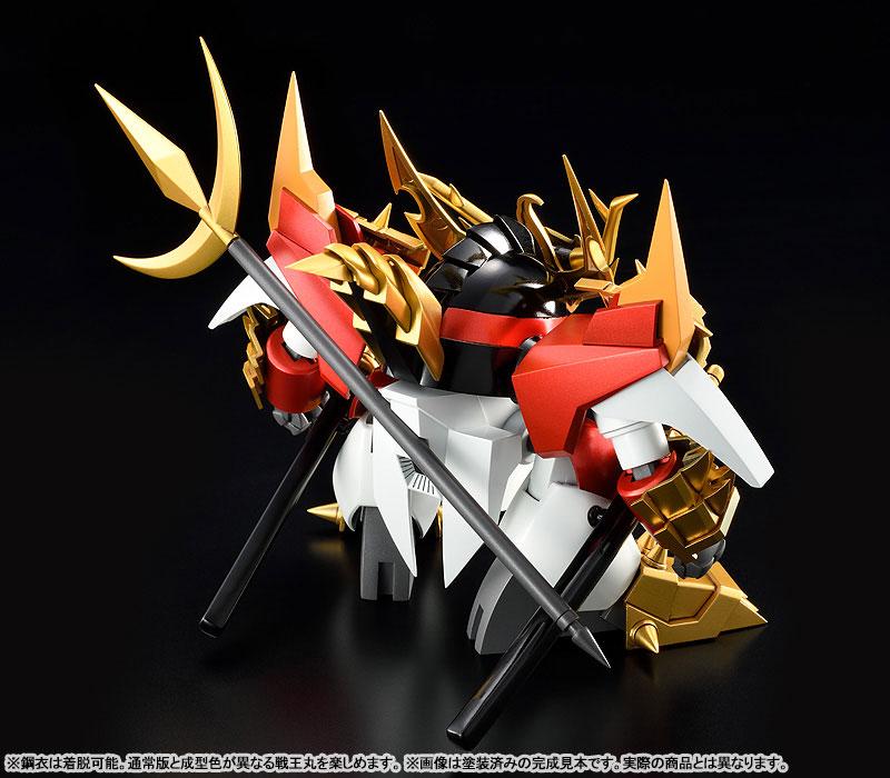 PLAMAX MS-16『鋼衣戦王丸』真魔神英雄伝ワタル プラモデル-004