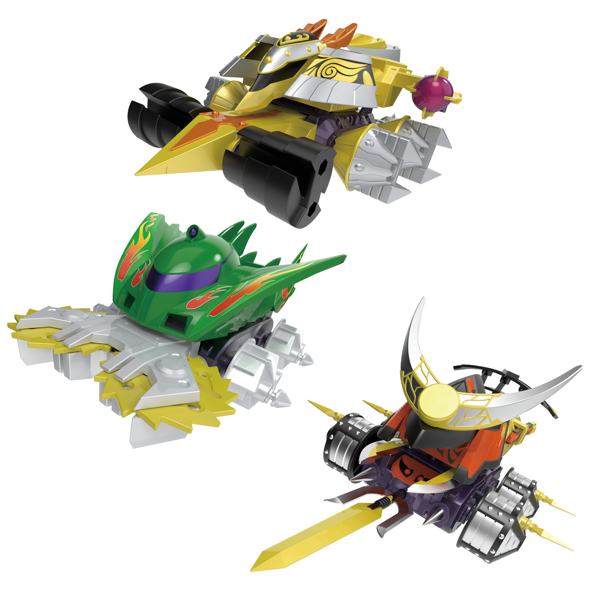 【食玩】SMP[SHOKUGAN MODELING PROJECT]『クラッシュギア BATTLE1』激闘!クラッシュギアTURBO 3個入りBOX-008