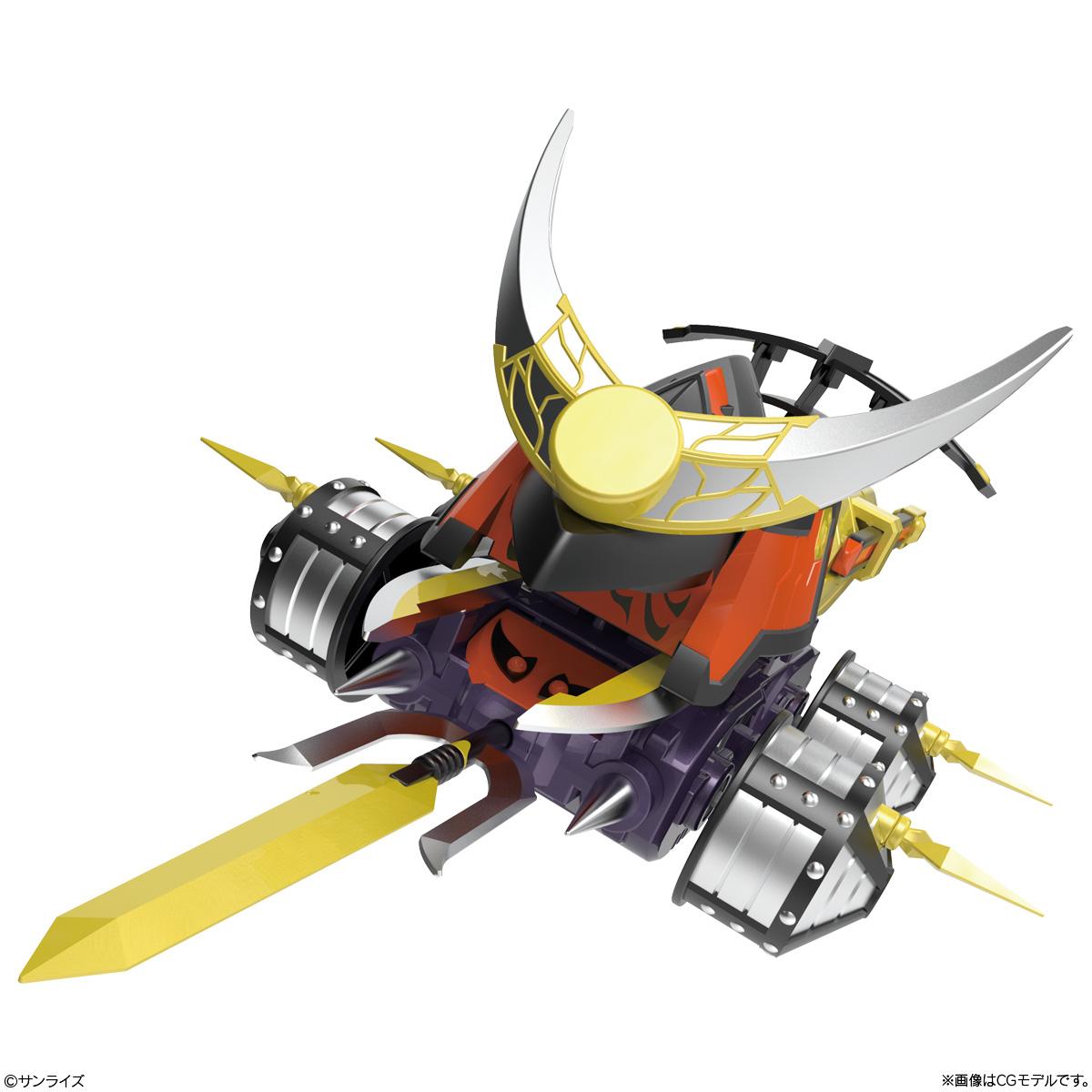 【食玩】SMP[SHOKUGAN MODELING PROJECT]『クラッシュギア BATTLE1』激闘!クラッシュギアTURBO 3個入りBOX-011