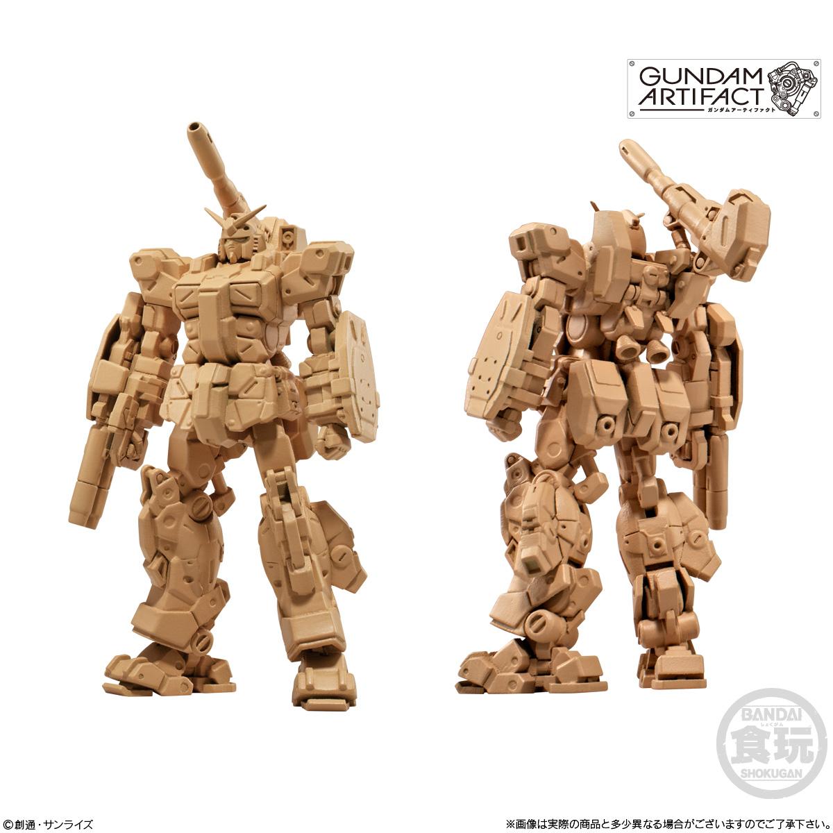 【食玩】機動戦士ガンダム『ガンダムアーティファクト 第2弾』プラ製ミニキット 10個入りBOX-002