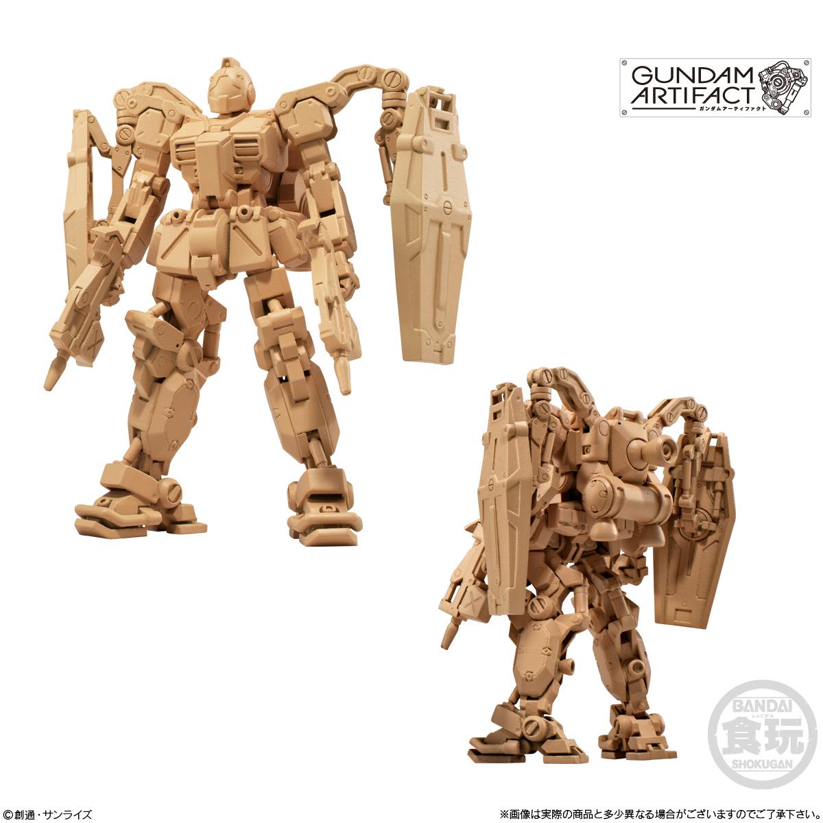 【食玩】機動戦士ガンダム『ガンダムアーティファクト 第2弾』プラ製ミニキット 10個入りBOX-003