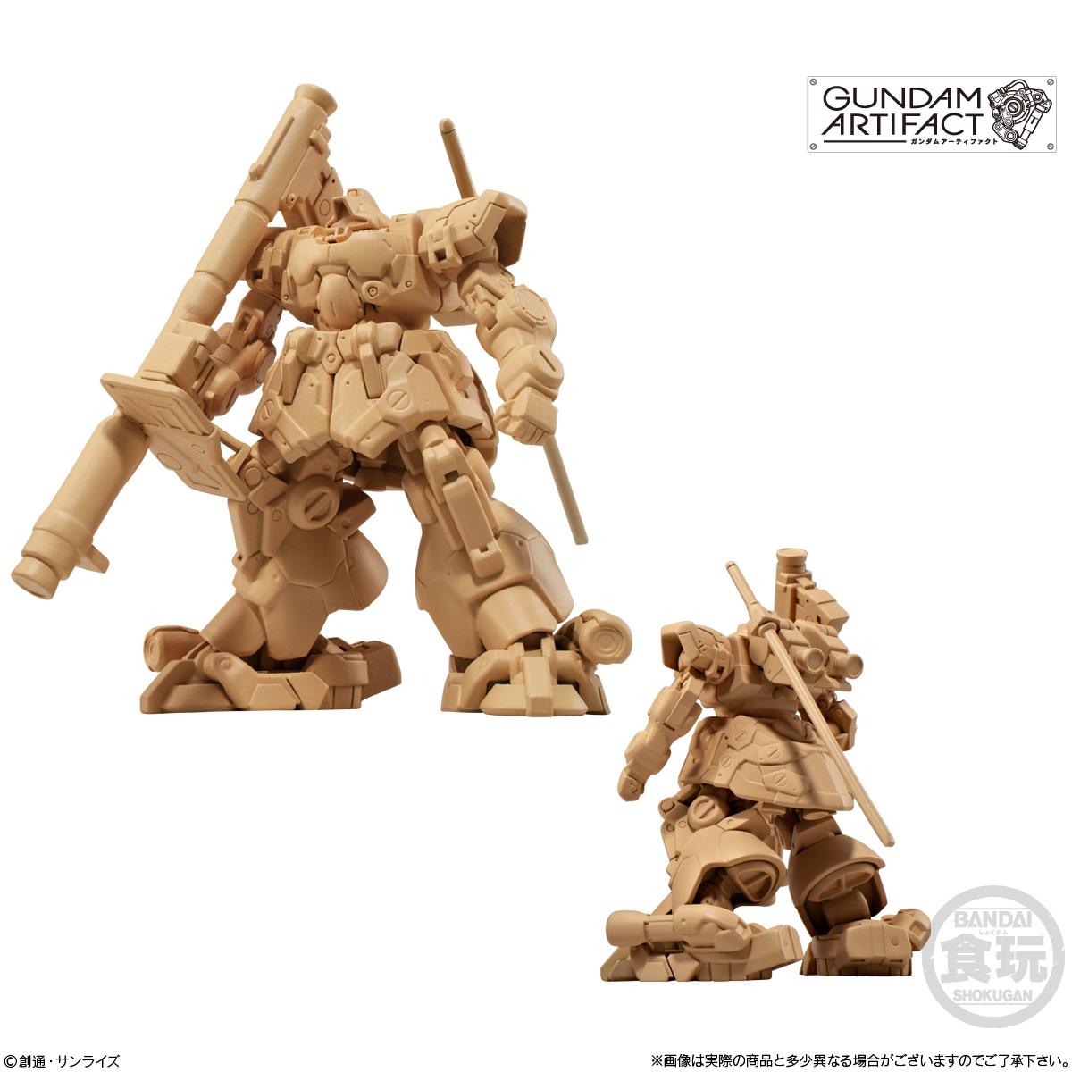 【食玩】機動戦士ガンダム『ガンダムアーティファクト 第2弾』プラ製ミニキット 10個入りBOX-004